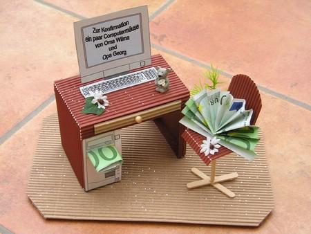 konfirmation money more kreative geschenkverpackung. Black Bedroom Furniture Sets. Home Design Ideas